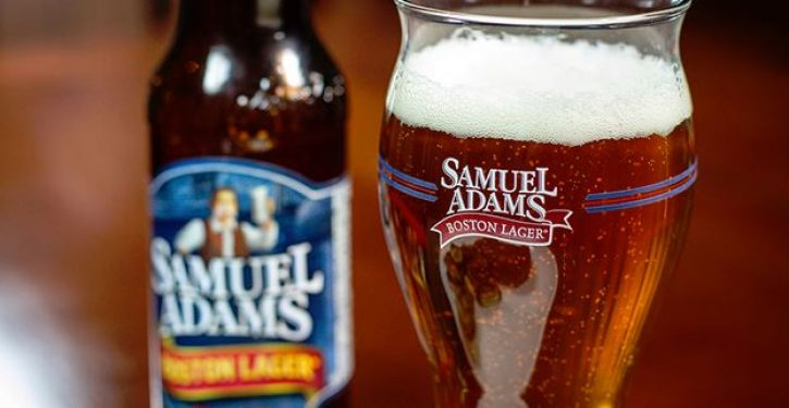 Samuel Adams beer ad quotes Declaration of Independence but with interesting omission