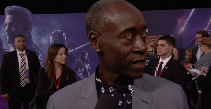 Tweet of the Day: Don Cheadle calls Donald Trump 'POS,' hopes he 'dies in a grease fire'