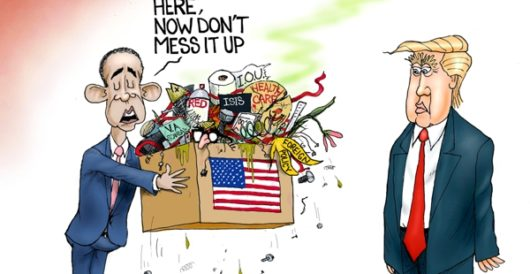 Cartoon of the Day: Speaking of inheritiing a mess by A. F. Branco