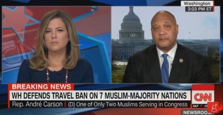 Dem Rep. Andre Carson: Obama 'One of the greatest presidents that this country has ever produced'