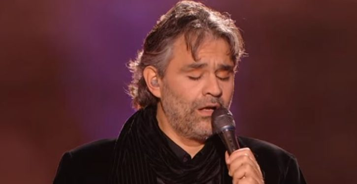 Andrea Bocelli backs out of singing at Trump's inauguration after receiving death threats