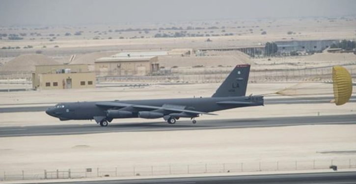 U.S. deploys B-52s to Middle East on 'short notice deterrence' mission