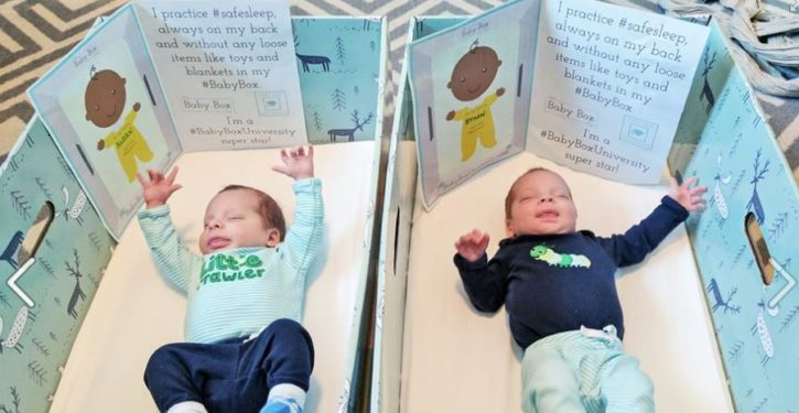 New Jersey to become first state to send new parents home with baby boxes
