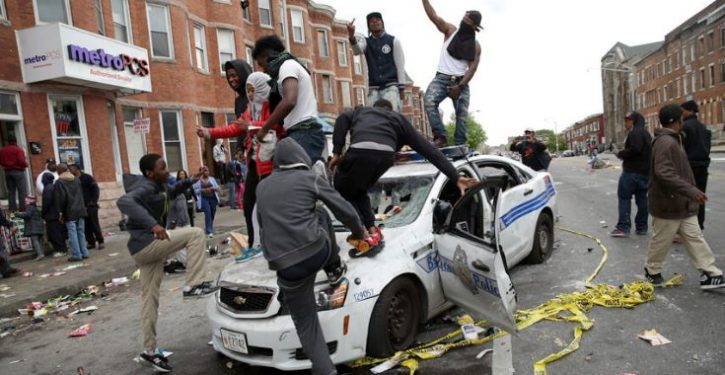 Baltimore mayor: Murder is out of control