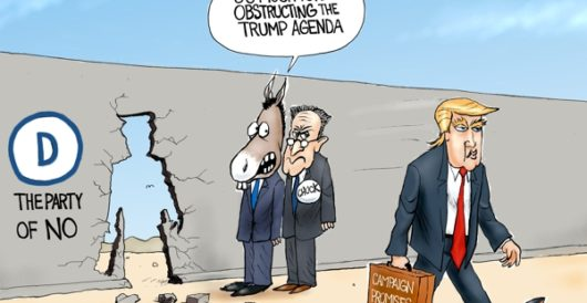 Cartoon of the Day: The Energizer president, keeps going and going… by A. F. Branco