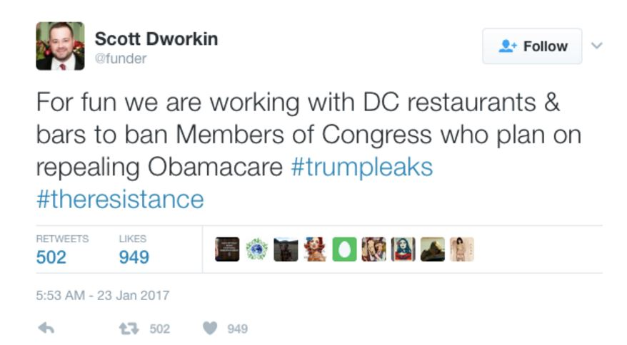 Dworkin tweet