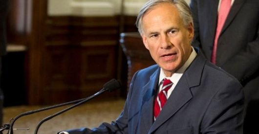 TX governor pledges to sign anti-sanctuary city bill by Kenric Ward