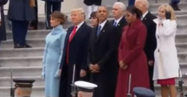 Inauguration's sartorial score: Trump clothes bad; Obama, Democrat clothes good