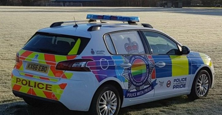 UK: Lancashire police unveil 'LGBT patrol car,' hope it will encourage reporting of 'hate crimes'