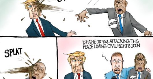 Cartoon of the Day: Splat! by A. F. Branco