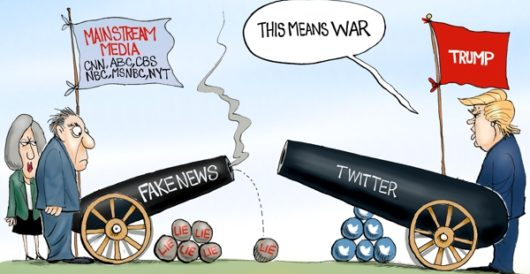 Cartoon of the Day: Info wars by A. F. Branco