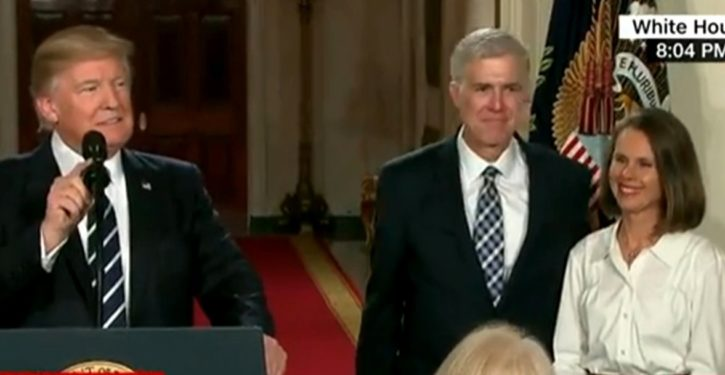Tweet of the Day: Never concede that Neil Gorsuch is a legitimate member of the Supreme Court