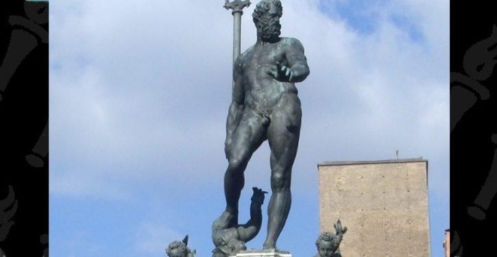 Facebook 'censors' photo of nude statue of Neptune, Renaissance symbol of northern Italian city