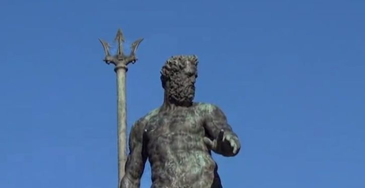Facebook censors image of 16th century statue of Neptune in Bologna, Italy