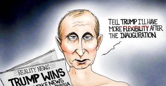 Cartoon of the Day: Play it again, Vlad by A. F. Branco