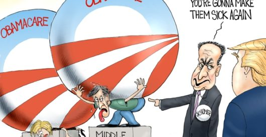 Cartoon of the Day: Obamacarefree by A. F. Branco