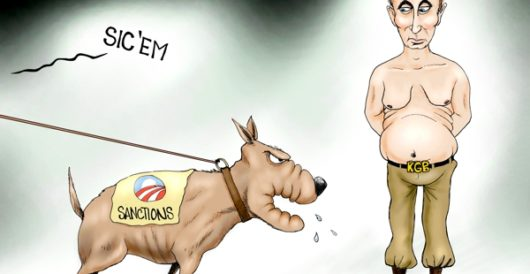 Cartoon of the Day: Dog on it by A. F. Branco