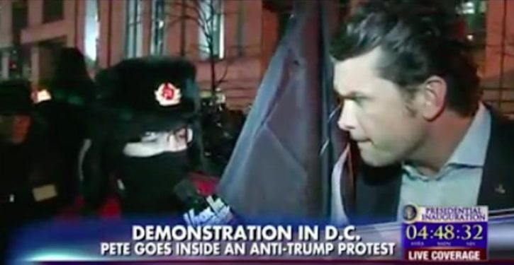 Protester to Fox News: 'Stalin would be a lot better than Trump'