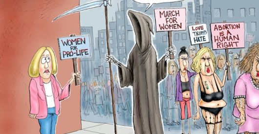 Cartoon of the Day: Fear no evil by A. F. Branco