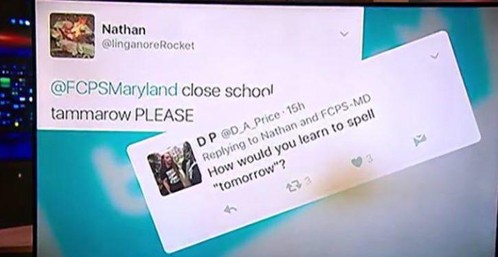 School employee fired for tweet mocking student's spelling