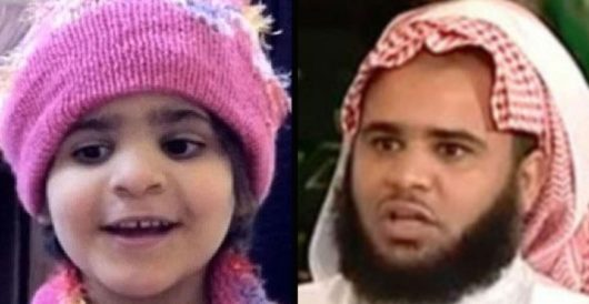 Saudi preacher rapes, tortures, murders own 5-year-old daughter because he thinks she's not virgin by Howard Portnoy