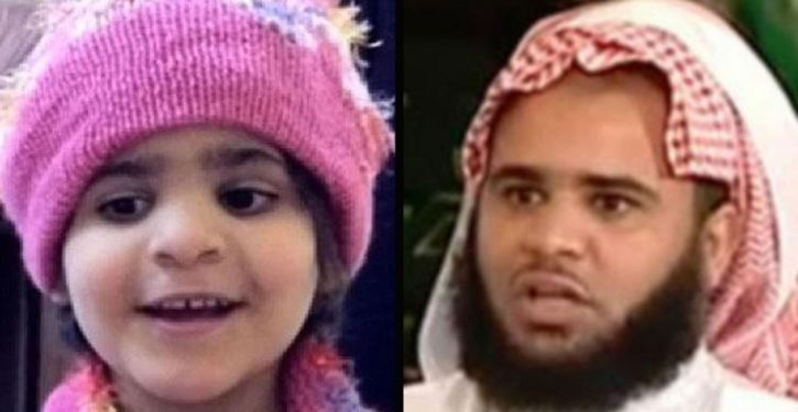 Saudi preacher rapes, tortures, murders own 5-year-old daughter because he thinks she's not virgin
