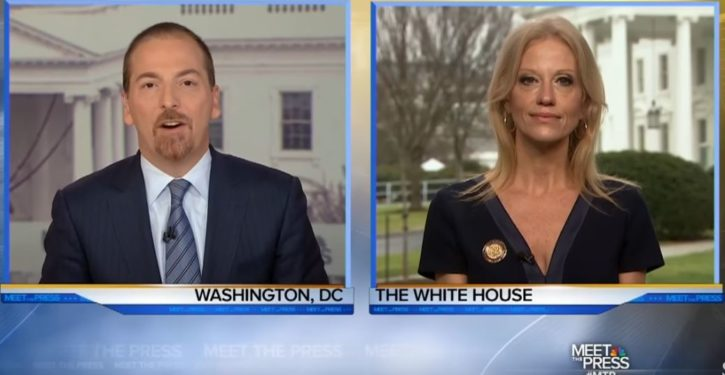 Size doesn't matter: Kellyanne Conway schools Chuck Todd on media's crowd obsession