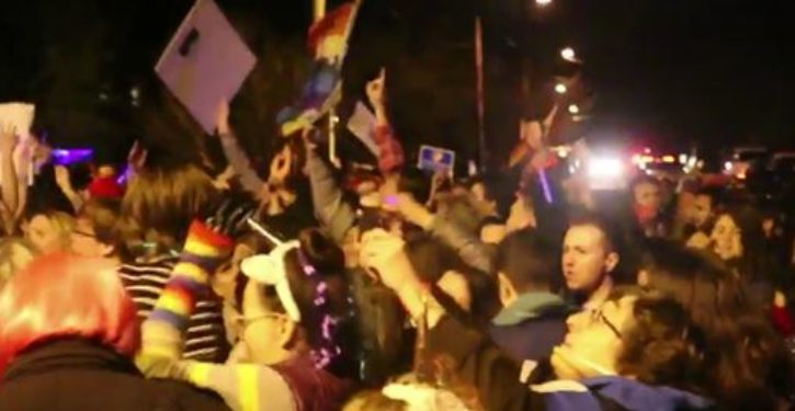 LGBTQ activists throw 'Queer Dance Party' outside Mike Pence's DC home