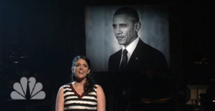 SNL sings 'To Sir with Love' in solemn, funeral-like tribute to Barack Obama