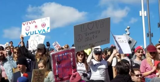 Mostly white women marchers should blame white women voters for President Trump by Myra Kahn Adams