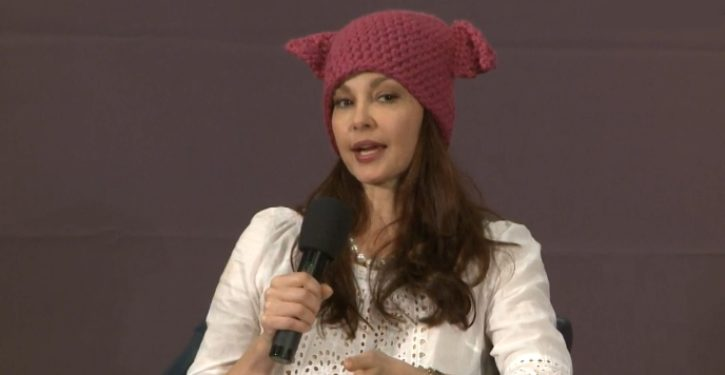 Ashley Judd: Trump's election victory worse than being raped