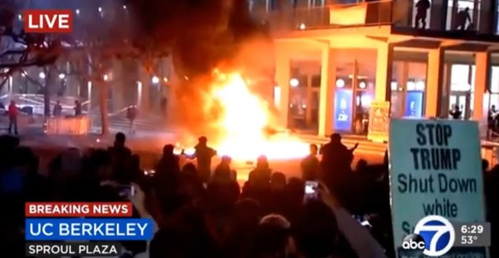 Berkeley: Mob-violence threat shuts down another conservative speaker