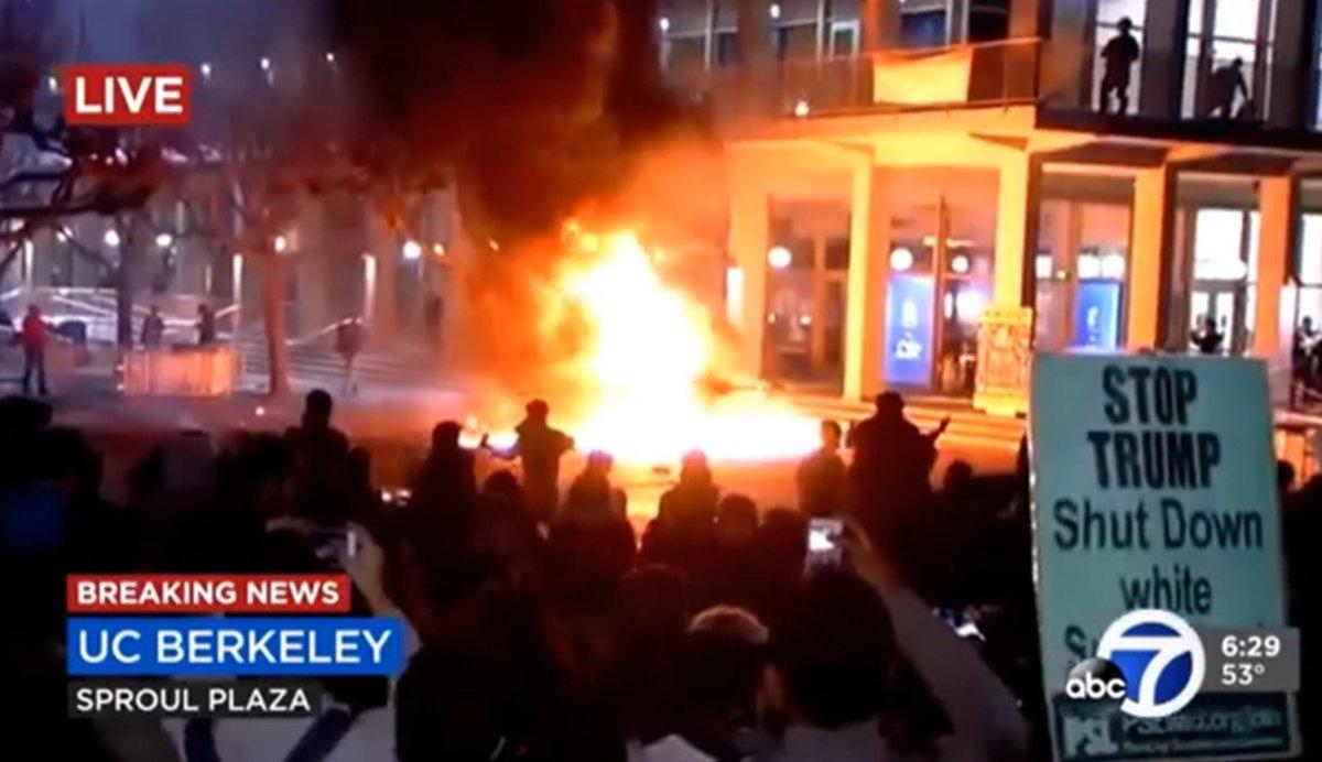 UC Berkeley students pledge money to help the Taliban kill Americans in the U.S.