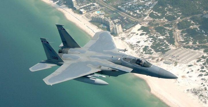 F-15s scramble to intercept 'unresponsive' aircraft near Mar-a-Lago