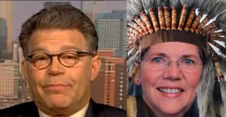 Calling Elizabeth Warren 'Pocahontas' is racist … says Sen. Stuart Smalley