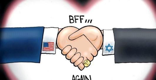Cartoon of the Day: Friends for real by A. F. Branco