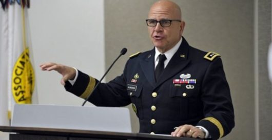 H.R. McMaster: Media have 'hamstrung' Trump's ability to accomplish anything in re Russia by Onan Coca