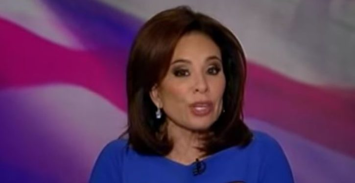 New York liberal freaks out on 'Judge Jeanine': 'F**k Trump, f**k these white people'