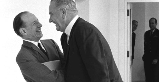 Could Trump drop a withdrawal bombshell à la LBJ in '68? by Myra Kahn Adams