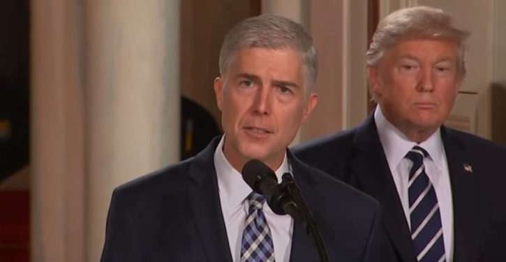 Gorsuch gets a boost from Democrats in his confirmation hearings