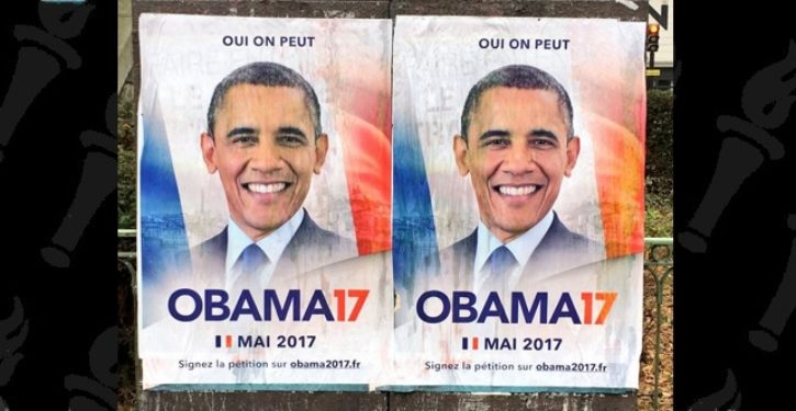 French voters want Obama to run for president of France to 'give French people hope'