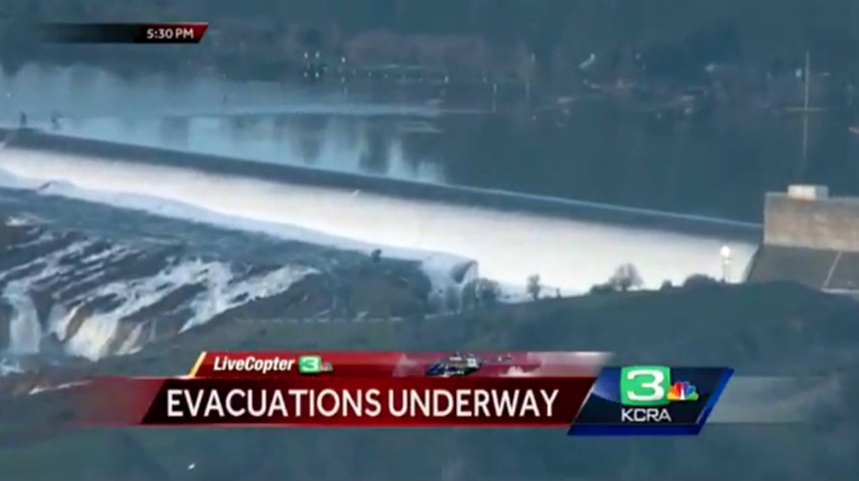 California's Oroville Dam at risk again with record Sierra snowfall – even after $1.1 b in repairs