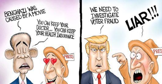 Cartoon of the Day: Lie detector by A. F. Branco