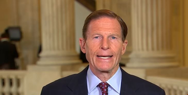 Sen. Richard Blumenthal proposes criminalizing criticism of fake news