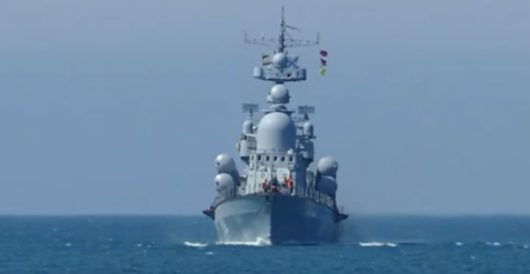 Russian spy ship seen off coast of Delaware by Ben Bowles