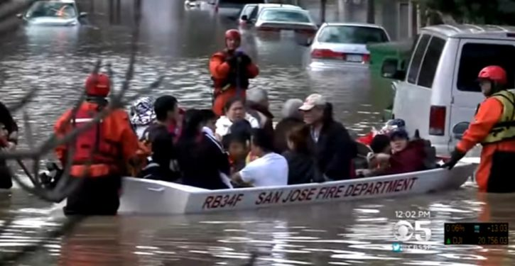 San Jose mayor who stood by for anti-Trump riots failed to warn residents of impending flood