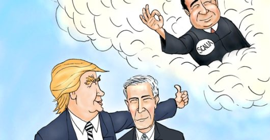 Cartoon of the Day: Blessings from on high by A. F. Branco
