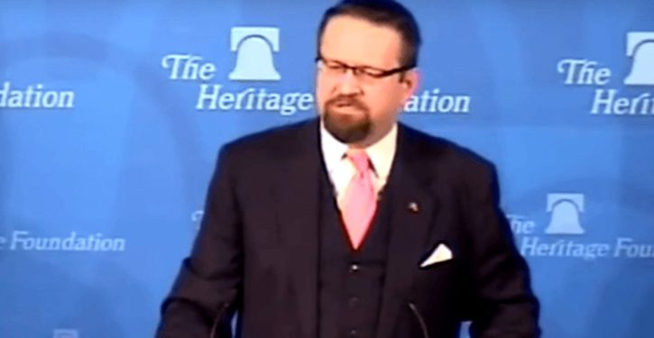 Left trots out debunked 'crypto-Nazi' allegation against Sebastian Gorka for a second time