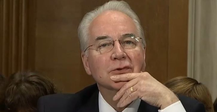 HHS Sec. Tom Price says House repeal platform is 'a work in progress'