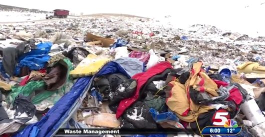 Tweet of the Day: This is the way the world ends — knee-deep in litter left by global warmists by Howard Portnoy